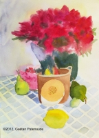 2004-06-bouquet-et-fruits-sur-nappe